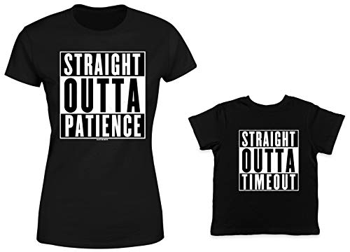 HAASE UNLIMITED Straight Outta Patience/Timeout 2-Pack Toddl