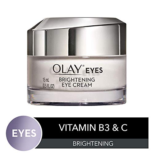 Olay Brightening Eye Cream with Vitamin C & B3 to Help Reduce Dark Circles, 0.5 Fl Oz