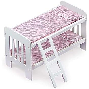 Amazon Com Kidkraft Lil Doll Bunk Bed Toys Amp Games