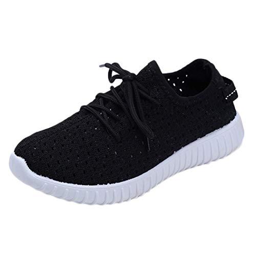 los Ejecutan Mujeres Cordones Libre Malla de para los de Las de Zapatos Negro Que al Soles cómodos Arriba Zapatos se Casuales Deportes Aire nT0qpSwaw