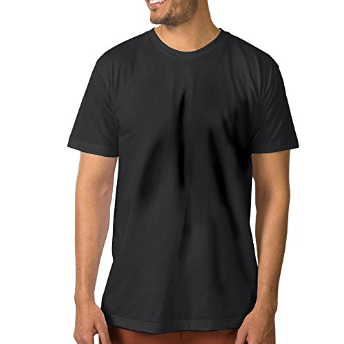 (Men's Blame Society Vintage Letter T-Shirt XL Black)
