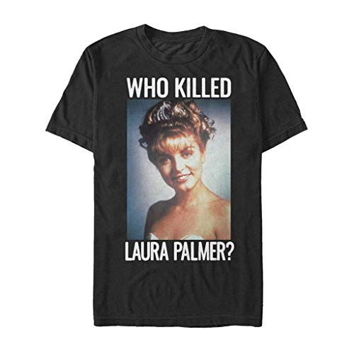 Twin Peaks Men's Who Killed Laura Palmer T-Shirt Black