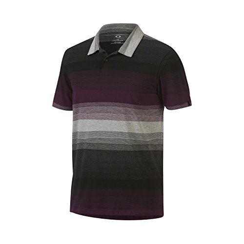 Oakley Men's Lateral Polo, Purple Haze, - Over Oakley Tops The