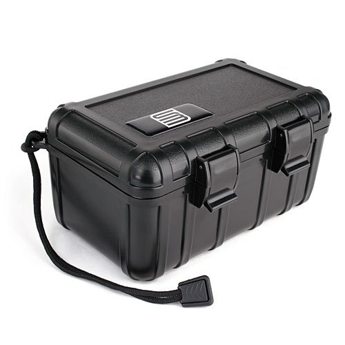 S3 Dustproof Hard Case with Foam Liner for Universal - Non-Retail Packaging - Black