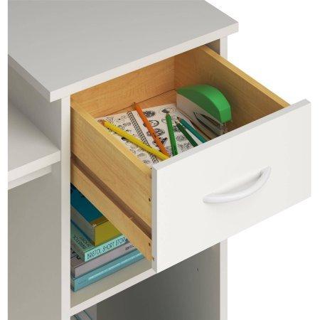 Mainstays Student Desk, White (White) by Toys & Child (Image #3)