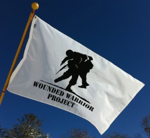 Wounded Warrior Flag (3x5)