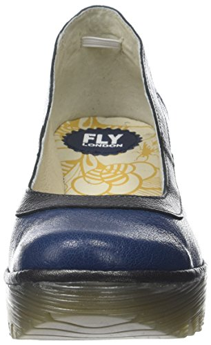 Femme Blue Fly Bout Escarpins London Bleu Graphite Yano838fly Fermé XwPX0