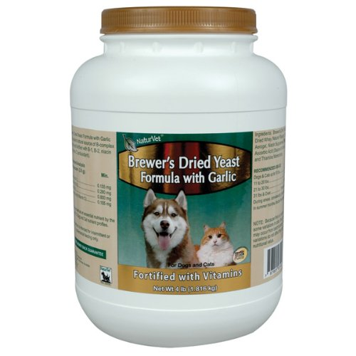 Brewers Yeast Fortified with Garlic – 4 pounds Powder, My Pet Supplies