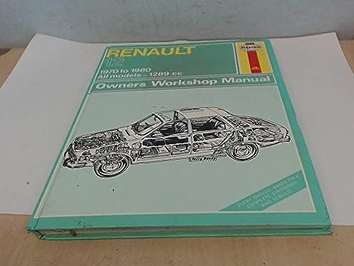 renault 12 owners workshop manual models covered all renault 12 rh amazon com Cartoon Manual Operators Manual