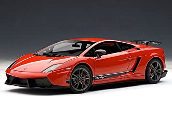 Lamborghini Gallardo Lp570 4 Superleggera 1 18 Rosso Andromeda Red