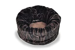 P.L.A.Y. Pet Lifestyle and You Snuggle Bed, Small, Truffle Brown