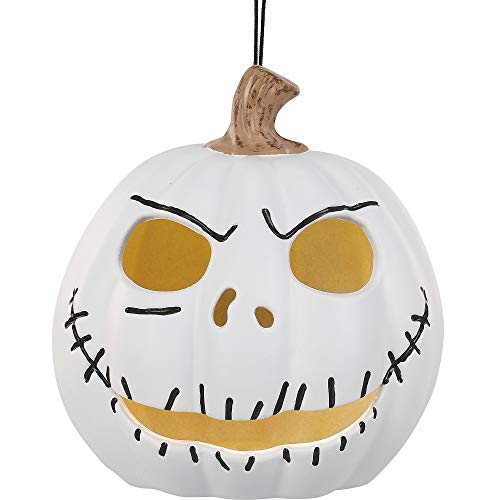 The Nightmare Before Christmas Light-Up Jack Skellington Jack-o'-Lantern, Props and Decor, by Seasonal Specialties (Light Up Lanterns O Jack)