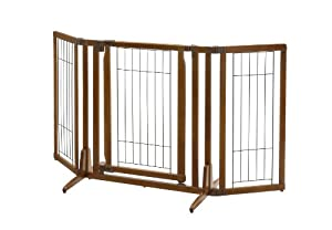 Amazon Com Richell Premium Plus Freestanding Pet Gate