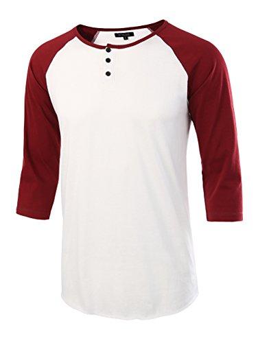 White Classic Raglan T-shirt - 6