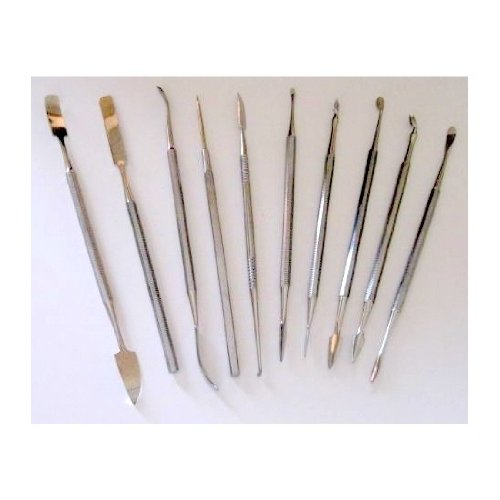 Carver Wax - 10pcs Mixed Wax Carvers and Spatulas Set for Wax Carving