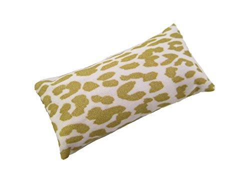 Nakpunar Sewing Pin Cushion - Gold Animal Print Cotton Pincushion Filled with Emery Sand
