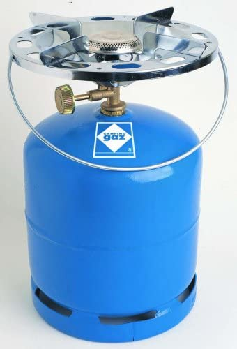 P. Coleman - Hornillo gas cromado camping gaz 900-rs: Amazon ...
