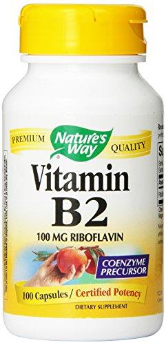 Путь Витамин B2 природы, 100 мг Рибофлавин, 100 капсул