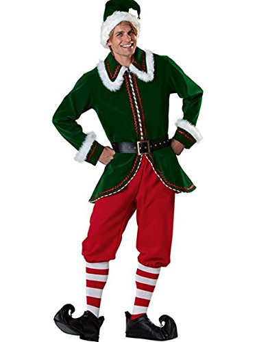 Costumes Chart Incharacter Size (Santa039;s Elf Costume - Large - Chest Size)