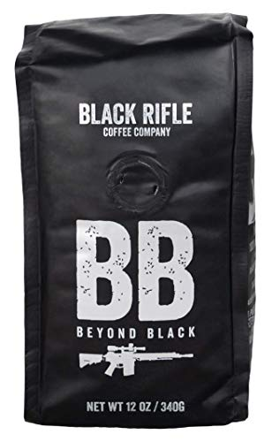 Black Rifle Coffee Company, Beyond Black Coffee, Dark Roast, Ground 12 oz Bag