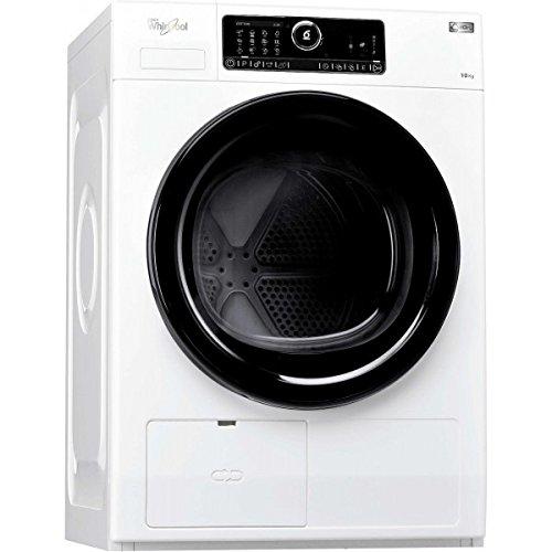 Whirlpool HSCX 10432 Libera installazione Carica frontale 10kg A++ Bianco asciugatrice
