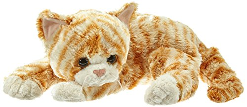 Ty Classic Cobbler Cat in Orange and White (House Cat Plush)
