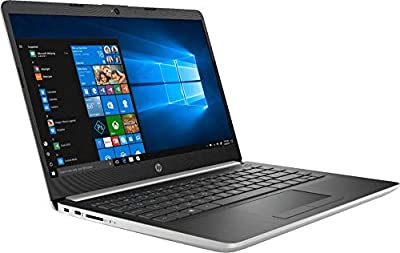 "Newest 2019 Flagship HP 14"" Laptop Intel Pentium Gold 4GB Ram 128GB SSD Ash Silver Keyboard Frame"