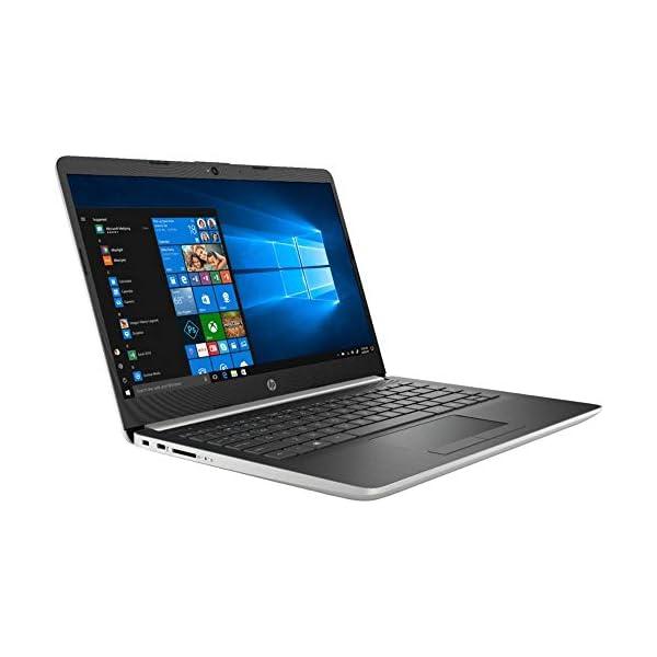 2019 HP 14″ Laptop (Intel Pentium Gold 2.3GHz, Dual Cores, 4GB DDR4 RAM, 128GB SSD, Wi-Fi, Bluetooth, HDMI, Windows 10 Home) (Ash Silver) (14-CF0012DX)