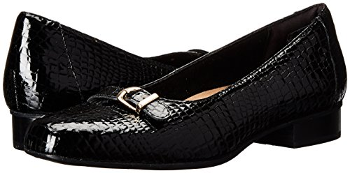 Leather Clarks Dress Pompa Raine Keesha Black Croc vZBvq0H