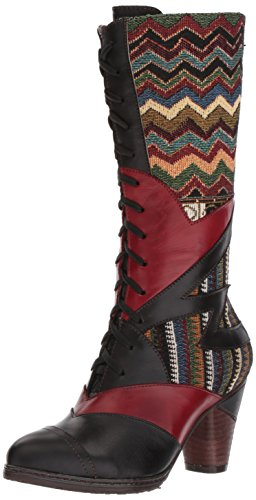 L'Artiste Malag Spring Boot Black Women's by Step ZrqZz