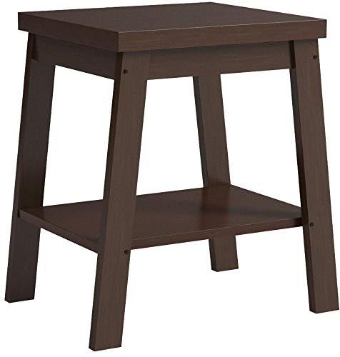 Mainstays Logan Side Telephone Table, Espresso set of 2