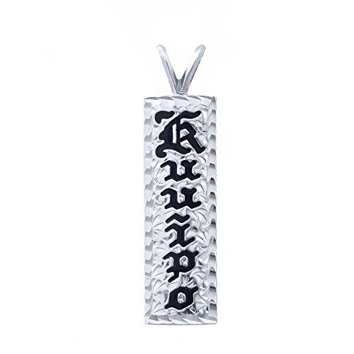 (Hawaiian Heirloom Sterlng Silver Custom Ku'uipo 10mm Enamel)