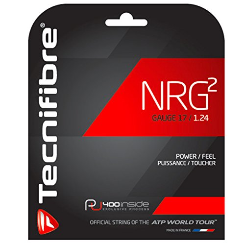 Tecnifibre NRG2 17 Gauge (1.24) String pack – 40 feet