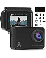 "Bear Grylls Wifi Action Camera 14MP Full HD 1080P (BG-AC-1) with 2"" Touch-Screen Display IP68 Waterproof 30m Underwater 160° Wide-Angle Sports Camera with Full Accessory & Mount Kit."