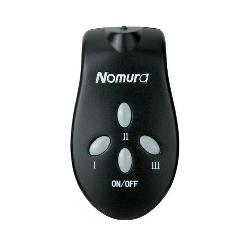 Nomura NPO-15E-II Remote Control Wall-Mounting Electric Patio Heater, 1500-watt