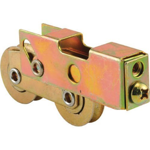Slide-Co 132351 Adjustable Sliding Patio Door Tandem Roller Assembly, 1-1/4-Inch (Rollers Patio Door 1/4 1)