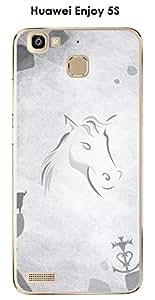 Enjoy Huawei 5S, diseño de caballo y toro