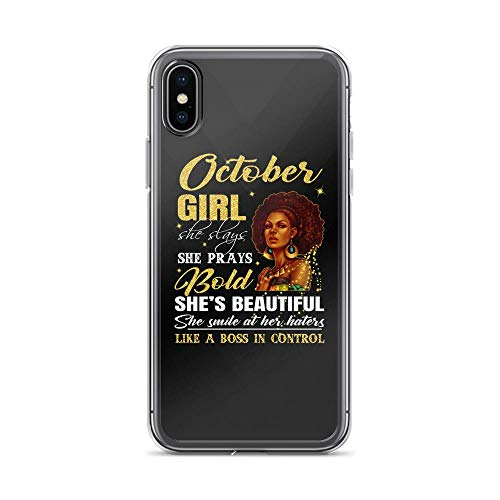 iPhone X/XS Pure Clear Case Cases Cover October