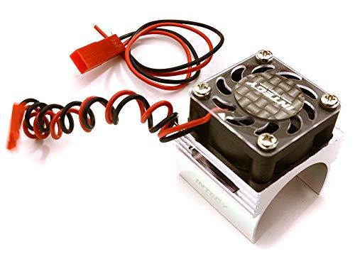 Integy RC Model Hop-ups C23141SILVER Super Brushless Motor Heatsink+Cooling Fan 1//16 Traxxas ERevo,Slash,Summit,Rally