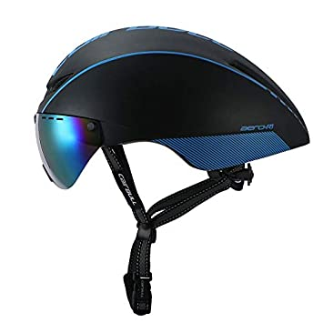 ZMHX Casco Nuevo Aero TT Road Bicycle Helmet Gafas Racing Ciclismo ...