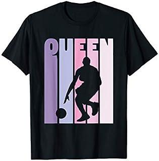 Vintage Basketball Queen Basketball Player Girls Basketball T-shirt | Size S - 5XL