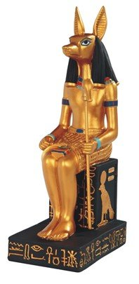 Major-Q G8088406 9 3//4 Egyptian Deity Anubis Statue Figurine Home Decor Sculptures polyresin