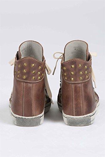 Pol Kläder Hightop Läder Sneakers Av