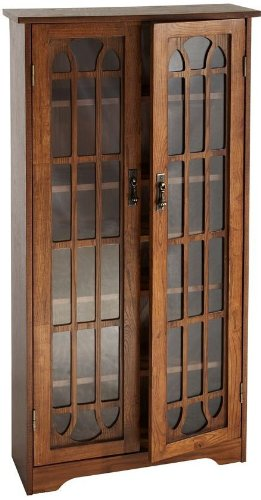 Windowpane Media Cabinet - 7
