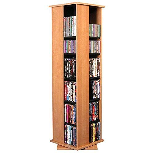 Disney Storage Media (Venture Horizon Revolving Media Tower 600 Oak)