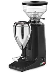 Quamar M80E Burr Coffee Espresso Grinder Black