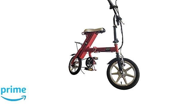 Helliot Bikes Neo Bicicleta Eléctrica, Unisex Adulto, Rojo, Talla Única: Amazon.es: Deportes y aire libre
