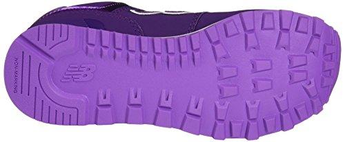 New Balance 574, Zapatillas infantil Purpura (Purple)