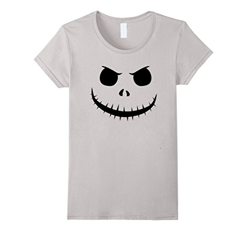 Costumes King Pumpkin Jack (Womens Halloween Pumpkin Jack King Face Unisex T-Shirt Medium)