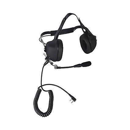 Amazon com: ContalkeTech Heavy Duty Noise Cancelling Aviation Comtac